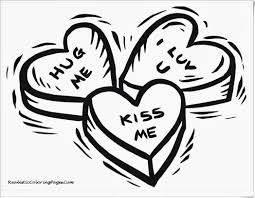 cute valentines day coloring page free download