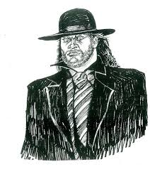 rare undertaker sketches photos wwe