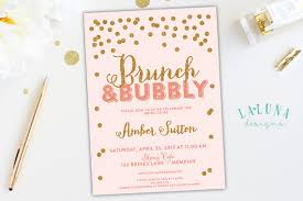 bridal shower invitations brunch items similar to bridal shower invitation brunch bubbly bridal