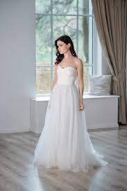 heather strapless wedding dress