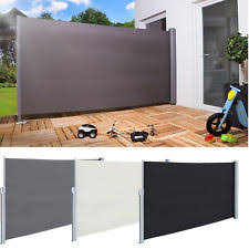 Outdoor Patio Partitions Gray Screens And Room Dividers Ebay