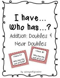 this is a free doubles game to practice addition doubles facts