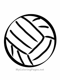 volley sports coloring book pages find print and color for free