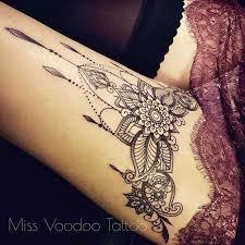 Thigh Tattoos For - the 25 best leg tattoos for ideas on henna leg