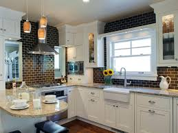 tile medallion backsplash small kitchen back splash medallions