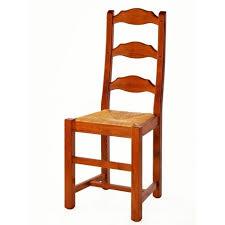 chaise de cuisine bois chaise de cuisine en bois et paille elba