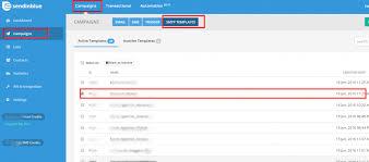 create a subscription form sendinblue email template outlook 2010