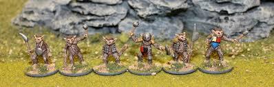 Splintered Light Miniatures Bugbear Warriors