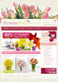 Best Online Flowers Oscommerce Flowers Store Template 33158