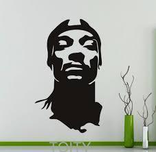popular wall stickers home decor rap buy cheap wall stickers home snoop dogg wall sticker rap hip hop music vinyl decal home interior decoration teen room dorm