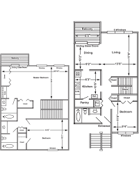 3 bedroom 3 bath floor plans floor plans and pricing for eagles eyrie apartments