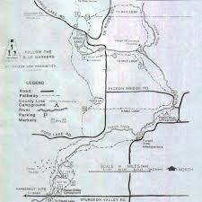 Camp Dearborn Map Shingle Mill Pathway U2022 Hiking U2022 Michigan