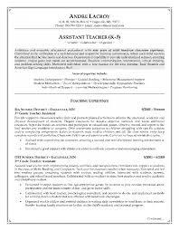 preschool assistant teacher resume cover letter teacher assistant resume sample day care assistant