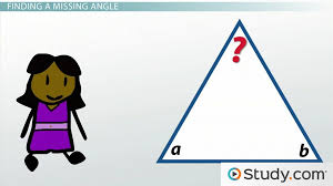 measuring the angles of triangles 180 degrees video u0026 lesson