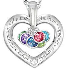 mothers necklaces with names and birthstones s day jewelry personalized jewelry she ll