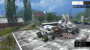 monster truck jams monster truck jam v1 0 for fs 2015 farming simulator 2017 2015