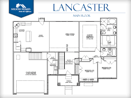 Home Design Diagram Lancaster Floor Plan Rambler New Home Design Nilson Homes