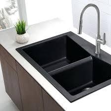 Undermount Granite Kitchen Sink Black Undermount Sink Single Bowl Black Onyx Granite Kitchen Sink