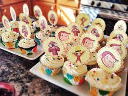 curious george cupcakes curious george birthday party food