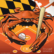 citizen crab oriole maryland u0027s crab celebrating baseball digital