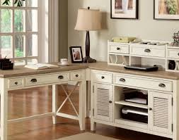 Home Computer Desk Hutch Desk Beautiful Secretary Desk With Hutch And Table Lamp Also