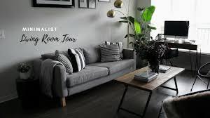 Minimalist Apartment Tiny Minimalist Apartment Living Room Tour Youtube