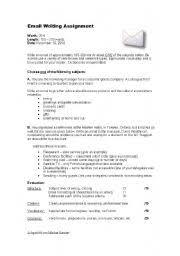 english teaching worksheets business writing