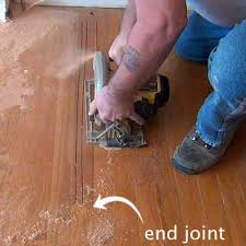 remove replace solid hardwood floor boards with