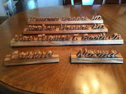 Desk Name Plates Wood Buy A Custom Hand Made Wooden Desk Name Plate Made To Order From