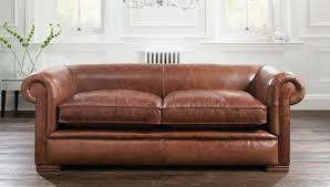 Chesterfield Leather Sofa by