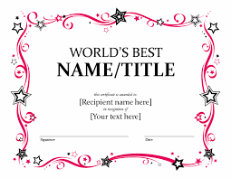 global u0027s better certificate free certificate templates in other