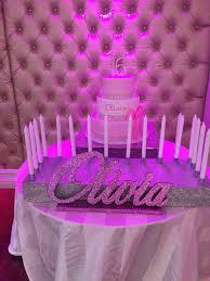 sweet 16 candelabra sweet 16 candelabra quinceanera mitzvah by thepartyplaceli
