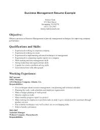 resume examples for management position business management resume examples u2013 foodcity me