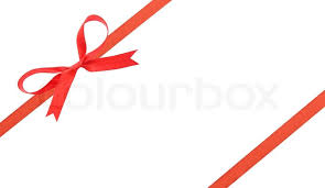 christmas ribbon christmas ribbon and bow stock photo colourbox