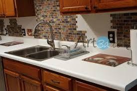 self stick kitchen backsplash on a budget stick kitchen backsplash clearly self adhesive mosaic