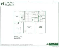 Double Master Bedroom Floor Plans Oak Creek Homes Double Wide Floor Plans