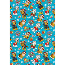 power rangers wrapping paper paw patrol christmas 4m giftwrap christmas bags wrap uk