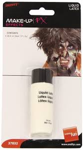 Halloween Liquid Latex Makeup by Smiffy S 1oz Halloween Liquid Latex Fake Skin Scars Wounds Fancy
