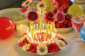 picture cake and flowers birthday candles geegle news