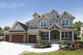 4 bedroom 4000 sf home 2 story craftsman style stone shingle