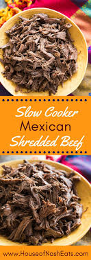 cuisiner mexicain cooker shredded beef is incredibly tender and delicious