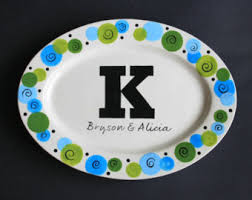 personalized platter personalized platter cotton southern platter serving tray