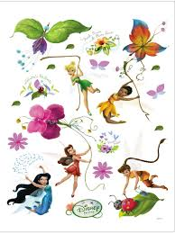 disney fairies maxi stickers muraux fee clochette 85x65cm posters disney fairies poster sticker wall tattoo tinker bell iridessa rosetta silvermist fawn x 26 inches