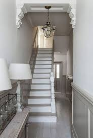 modern victorian homes interior dulux chalky downs in small hall stair rail pinterest small
