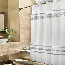 Croscill Shower Curtain Croscill Spa Tile Fabric Shower Curtain Bed Bath U0026 Beyond