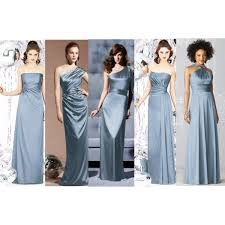 slate blue bridesmaid dresses slate blue bridesmaid dresses by dmarie217 on polyvore wedding