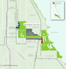 Uchicago Map The University Of Chicago Finally Shares Its Obama Library Plan
