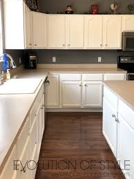 how to paint my kitchen cabinets white painted kitchen cabinets in white dove evolution of style