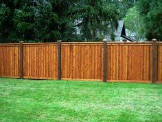 Backyard Fence Privacy Fence Design Ideas Landscaping Network The Great