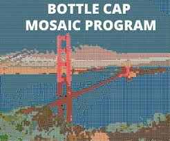 bottle cap necklaces for sale open source beer bottle cap mosaic program 4 steps with pictures